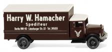 Wiking 094407 LKW Spedition Hamacher