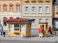 Auhagen 12340 Kiosk und Telefonzelle