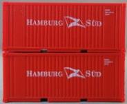 PSK 6926 20 Fuß Container Hamburg Süd