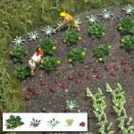 Busch 1222 Gemüse und Salat