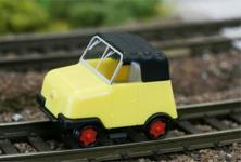 Kres 55555 Gleiskraftrad Schienentrabi