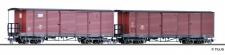 Tillig 05940 H0e Güterwagenset der DR