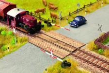 Noch 14624 Laser-Cut minis Bahnübergang