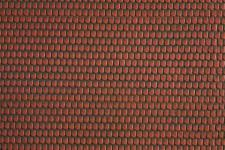 Noch 57328 Bieberschwanz 3D Strukturfolie