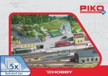 Piko 61923 Bahnhof-Set