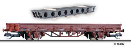 Tillig 14758 Niederbordwagen mit Ladegut