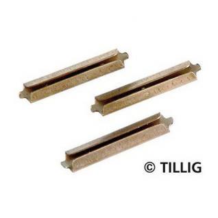 Tillig 85501 Brünierte Schienenverbinder