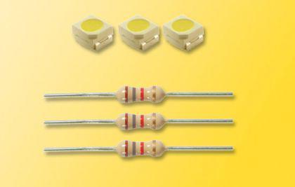 Viessmann 3556 3 LEDs weiß