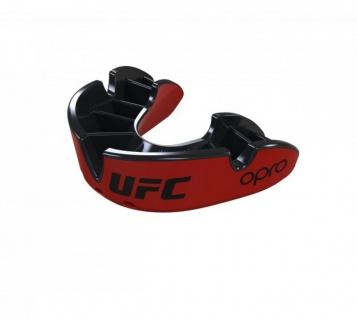 OPRO Zahnschutz UFC Silver - rot/schwarz, Senior