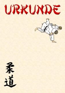 Urkunde Judo