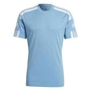 adidas T-Shirt Squadra 21 Herren hellblau/weiß