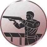 Emblem Gewehrschütze, 50mm Durchmesser