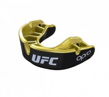 OPRO Zahnschutz UFC Gold - schwarz/gold, Senior
