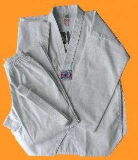 Taekwondo Anzug Seoul mit Rückendruck, Mischgewebe,