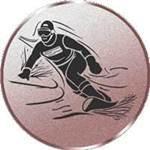 Emblem Snowboard, 50mm Durchmesser