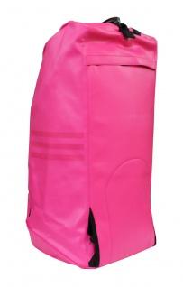 adidas Sporttasche - Sportrucksack pink/silber Kunstleder - Vorschau 4