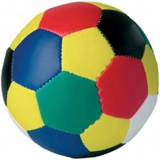 Soft Fußball 10 cm multicolor/bunt
