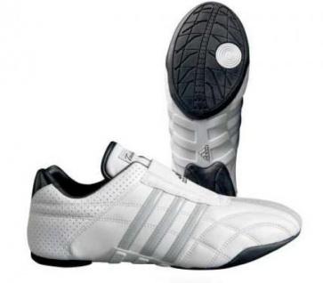 b4b6ee9b70ee2 Adidas Kampfsportschuhe Adilux weiß mit silbernen Streifen - Kaufen ...