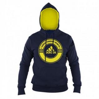 adidas Hoody Combat Sports blau/gelb