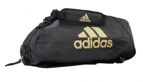 adidas Sporttasche - Sportrucksack schwarz/gold