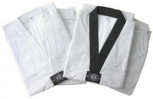 Taekwondo Anzug Competition mit schwarzem Revers