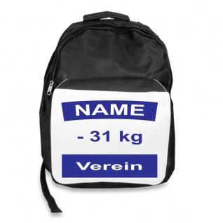 Rucksack mit Judo Rückennummer