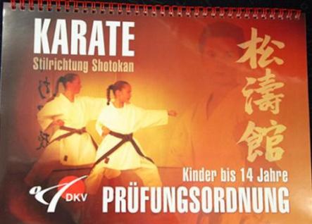 Ringbuch Kinderprüfungsordnung Shotokan - Kinder bis 14 Jahre
