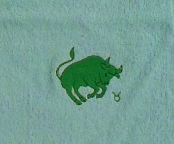 Frotteetuch mint mit Sternzeichen Stier - Vorschau 2