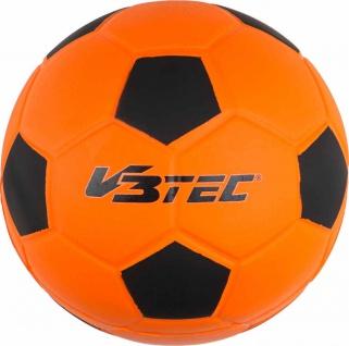 Softball Fußball aus Schaumstoff neonorange