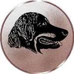 Emblem Hovawart, 50mm Durchmesser