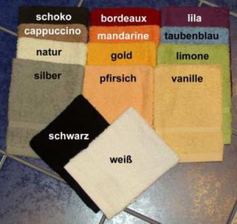 Saunatuch aus Frottee 70x200 cm Sylt mit Namensbestickung - Vorschau 5