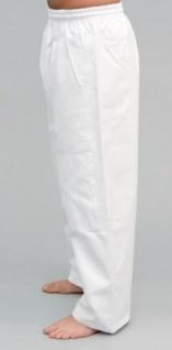 Judo Hose weiß mit Knieverstärkung
