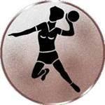 Emblem Handball-Damen, 50mm Durchmesser