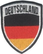 Aufnäher Deutschland