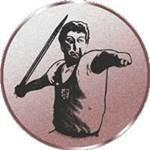 Emblem Speerwerfen, 50mm Durchmesser