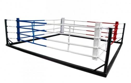 4 Ringseile für Kampffläche 4 x 4m ohne Ringecken
