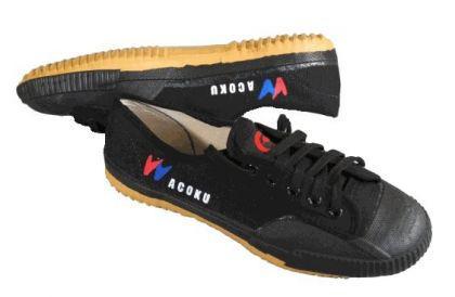 Schuhe für Kung Fu und Wu Shu schwarz - Vorschau 1
