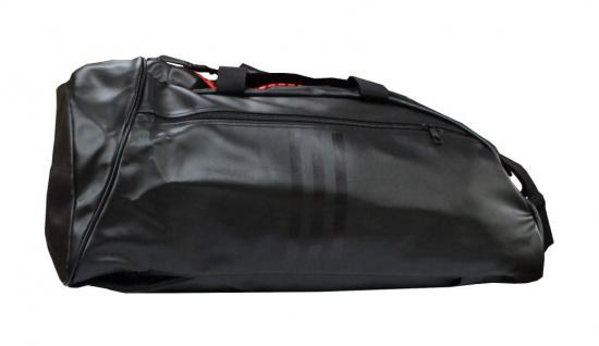 adidas Sporttasche - Sportrucksack schwarz/rot Kunstleder - Vorschau 2