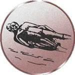 Emblem Rennrodeln, 50mm Durchmesser