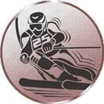 Emblem Ski-Alpin, 50mm Durchmesser