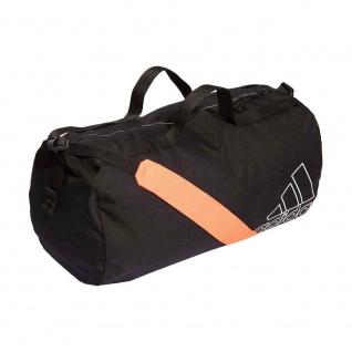 adidas Sporttasche schwarz|neonorange