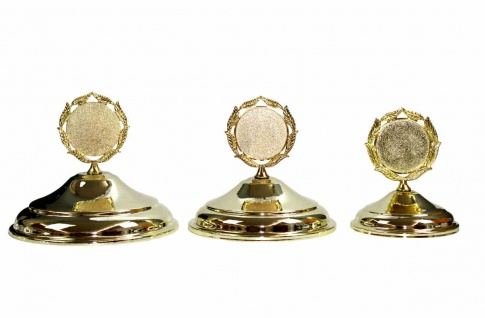 Deckel für Pokale in gold