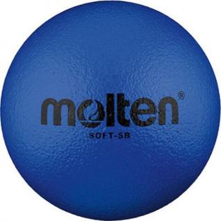 Softball blau 18 cm
