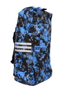 adidas Sporttasche - Sportrucksack Camouflage blau/silber - Vorschau 4