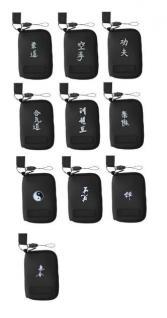 Handytasche oder MP3-Player Tasche aus Neopren, Motiv Kung Fu - Vorschau 3