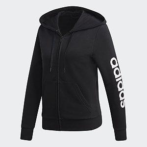 adidas Damen Trainingsjacke schwarz (Größe: L)