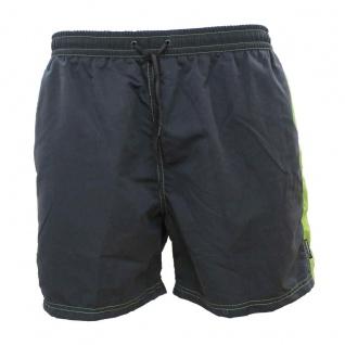 Badehose - Schwimmhose Adrian graphit/grün
