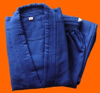 Judoanzug blau