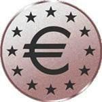 Emblem Eurozeichen, 50mm Durchmesser