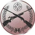 Emblem Luftgewehr, 50mm Durchmesser